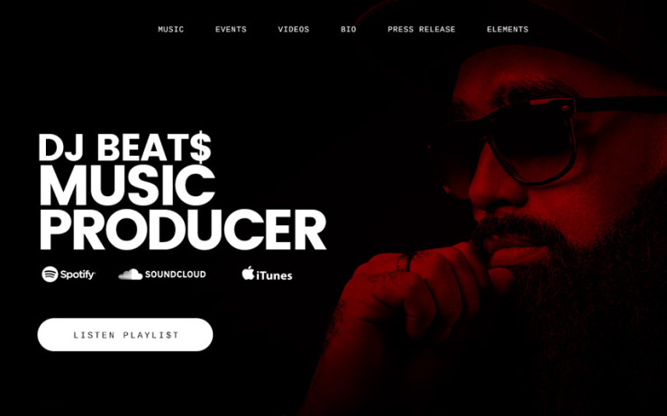 How To Create Musician Website With Wordpress Irontemplates